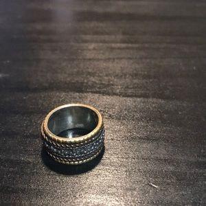 925 silver multicolor size 8 ring